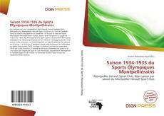 Bookcover of Saison 1934-1935 du Sports Olympiques Montpelliérains