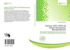 Bookcover of Saison 1951-1952 du Stade Olympique Montpelliérain