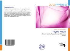Portada del libro de Toyota Previa