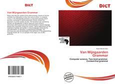 Couverture de Van Wijngaarden Grammar