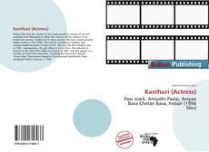 Portada del libro de Kasthuri (Actress)