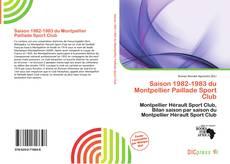Bookcover of Saison 1982-1983 du Montpellier Paillade Sport Club
