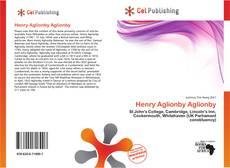 Portada del libro de Henry Aglionby Aglionby