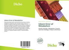 Bookcover of Inborn Error of Metabolism