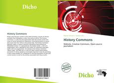 Bookcover of History Commons
