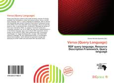 Bookcover of Versa (Query Language)