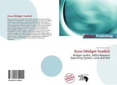 Bookcover of Zune (Widget Toolkit)