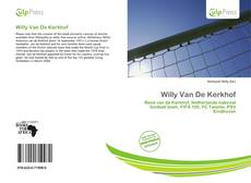 Bookcover of Willy Van De Kerkhof