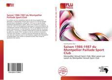 Обложка Saison 1986-1987 du Montpellier Paillade Sport Club