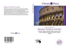 Portada del libro de Quintus Petillius Cerialis