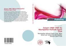 Bookcover of Saison 1988-1989 du Montpellier Paillade Sport Club