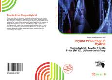Bookcover of Toyota Prius Plug-in Hybrid
