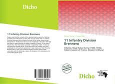 Borítókép a  11 Infantry Division Brennero - hoz