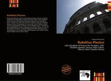 Couverture de Rubellius Plautus