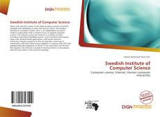 Bookcover of Swedish Institute of Computer Science