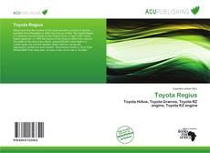 Capa do livro de Toyota Regius