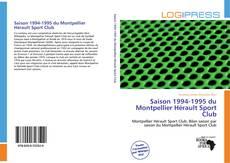 Обложка Saison 1994-1995 du Montpellier Hérault Sport Club
