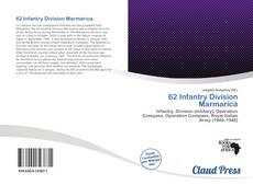 62 Infantry Division Marmarica kitap kapağı