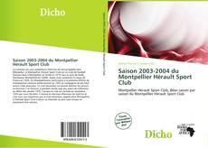 Bookcover of Saison 2003-2004 du Montpellier Hérault Sport Club