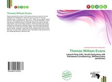 Bookcover of Thomas William Evans