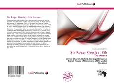 Обложка Sir Roger Gresley, 8th Baronet