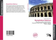 Bookcover of Nymphidius Sabinus
