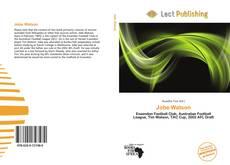 Buchcover von Jobe Watson