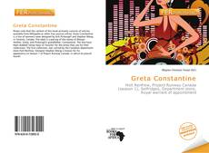 Bookcover of Greta Constantine