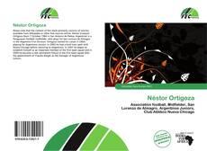 Capa do livro de Néstor Ortigoza
