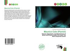 Bookcover of Maurice Cole (Pianist)