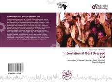 Couverture de International Best Dressed List