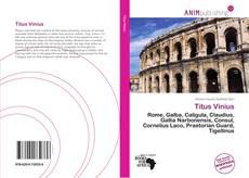 Buchcover von Titus Vinius
