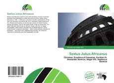Portada del libro de Sextus Julius Africanus