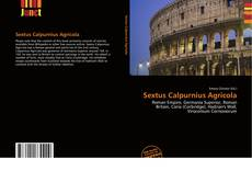Sextus Calpurnius Agricola kitap kapağı