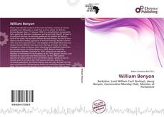 Bookcover of William Benyon