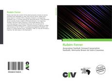Buchcover von Rubén Ferrer