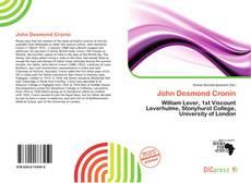 Buchcover von John Desmond Cronin