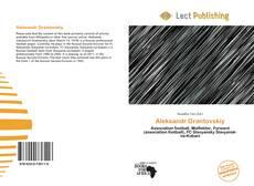 Bookcover of Aleksandr Grantovskiy