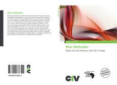 Capa do livro de Mac Defender