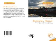 Bookcover of Blackwater, Missouri