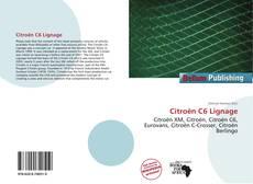 Citroën C6 Lignage kitap kapağı