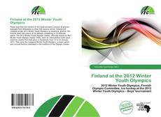 Bookcover of Finland at the 2012 Winter Youth Olympics