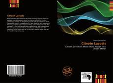 Citroën Lacoste kitap kapağı
