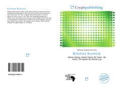 Bookcover of Kristina Koznick