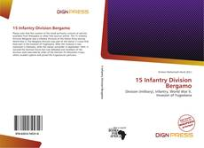 Bookcover of 15 Infantry Division Bergamo