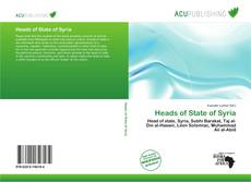 Bookcover of Heads of State of Syria