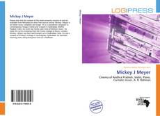 Bookcover of Mickey J Meyer