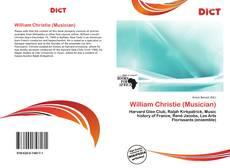 William Christie (Musician)的封面