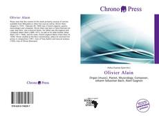 Bookcover of Olivier Alain