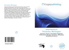 Bookcover of Nicholas McGegan